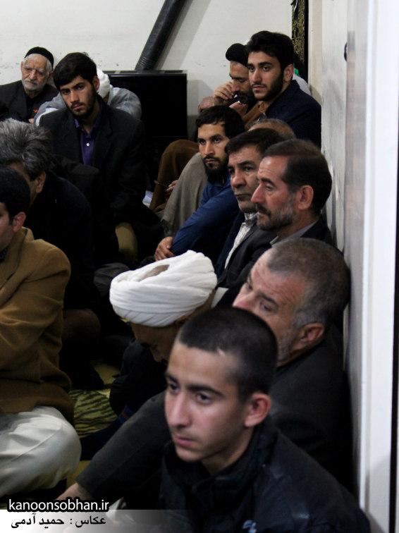 تصاویر شب آخر مراسم عزاداری صفر ۱۳۹۴ در دفتر امام جمعه کوهدشت (10)