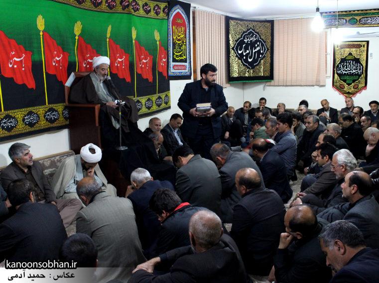 تصاویر شب آخر مراسم عزاداری صفر ۱۳۹۴ در دفتر امام جمعه کوهدشت (2)