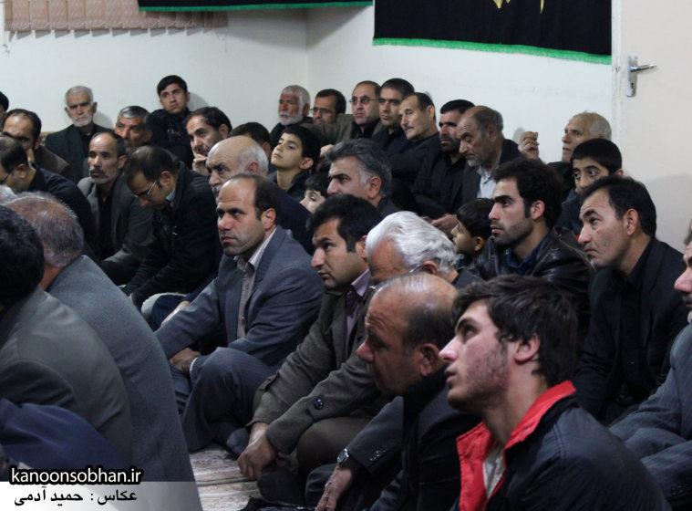 تصاویر شب آخر مراسم عزاداری صفر ۱۳۹۴ در دفتر امام جمعه کوهدشت (4)