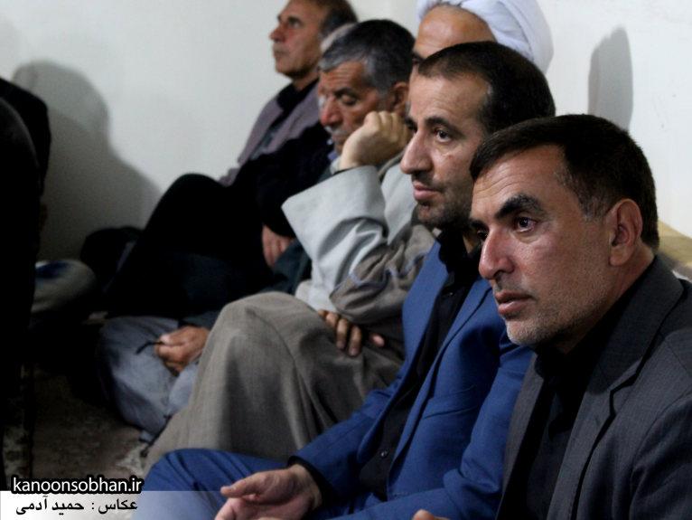 تصاویر شب سوم مراسم عزاداری صفر ۱۳۹۴ در دفتر امام جمعه کوهدشت (2)
