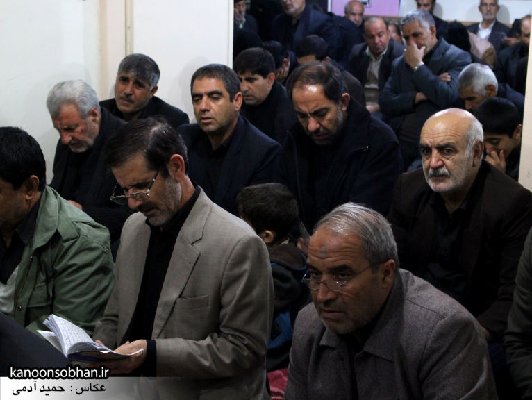 تصاویر شب چهارم مراسم عزاداری صفر ۱۳۹۴ در دفتر امام جمعه کوهدشت (10)