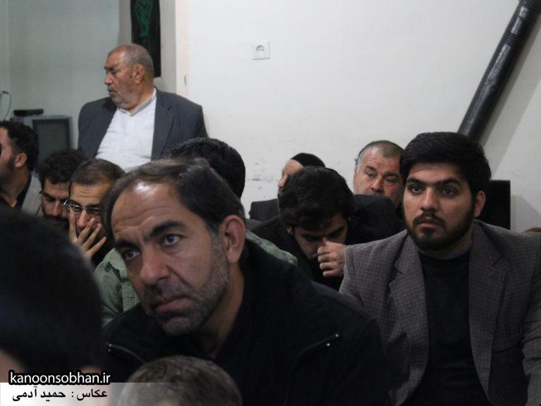 تصاویر شب چهارم مراسم عزاداری صفر ۱۳۹۴ در دفتر امام جمعه کوهدشت (25)