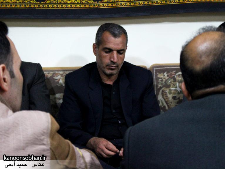 تصاویر شب چهارم مراسم عزاداری صفر ۱۳۹۴ در دفتر امام جمعه کوهدشت (30)