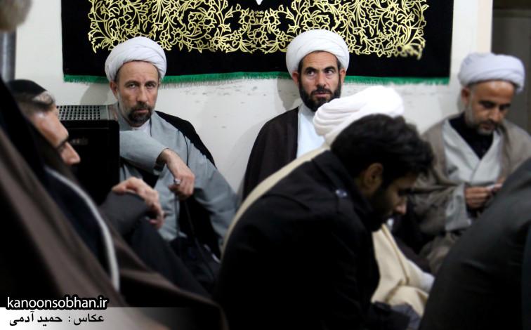 تصاویر مراسم عزاداری در دفتر امام جمعه کوهدشت.کانون سبحان (1)