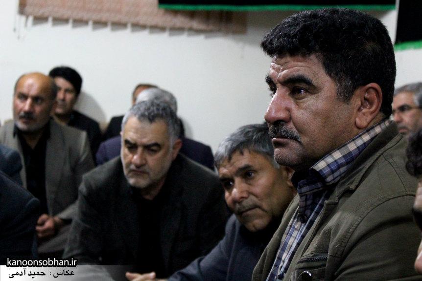 تصاویر مراسم عزاداری در دفتر امام جمعه کوهدشت.کانون سبحان (20)