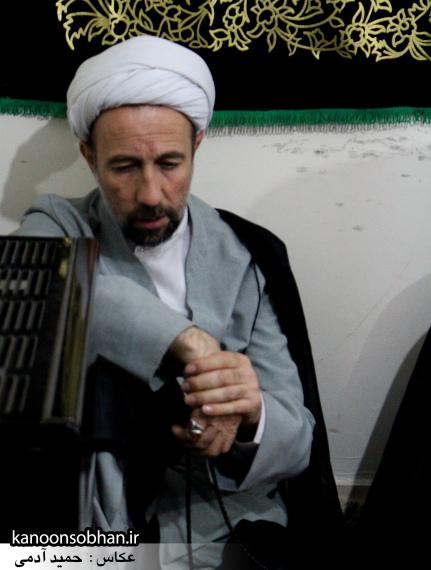 تصاویر مراسم عزاداری در دفتر امام جمعه کوهدشت.کانون سبحان (29)