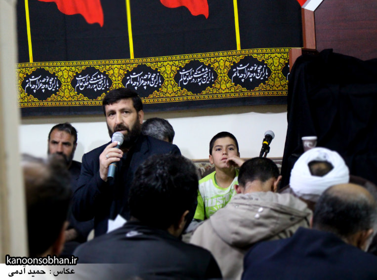 تصاویر مراسم عزاداری در دفتر امام جمعه کوهدشت.کانون سبحان (4)