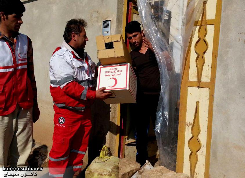 رسیدگی فعال هلال احمر کوهدشت به مناطق سیل زده کوهدشت+آمار و عکس (1)