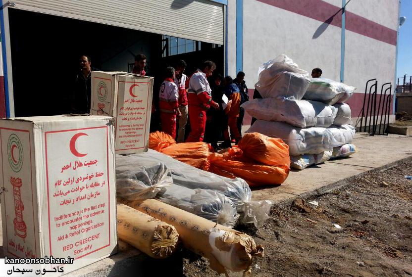 رسیدگی فعال هلال احمر کوهدشت به مناطق سیل زده کوهدشت+آمار و عکس (6)