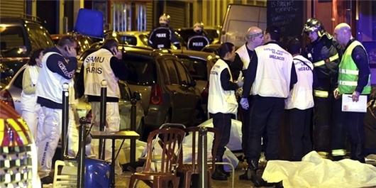 وضعیت پاریس در انفجارات، تیراندازی و گروگانگیریهای مرگبار