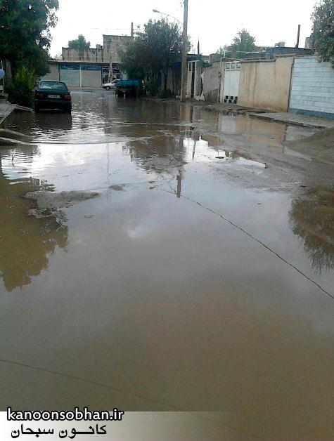 کوچه شهید مهرابی کوهدشت اسیر باران !+تصاویر (2)