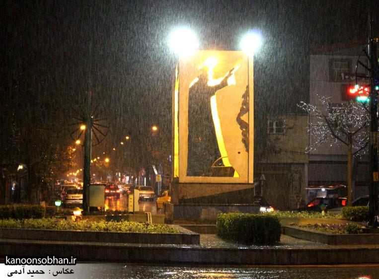 بارش باران شامگاهی کوهدشت عکس