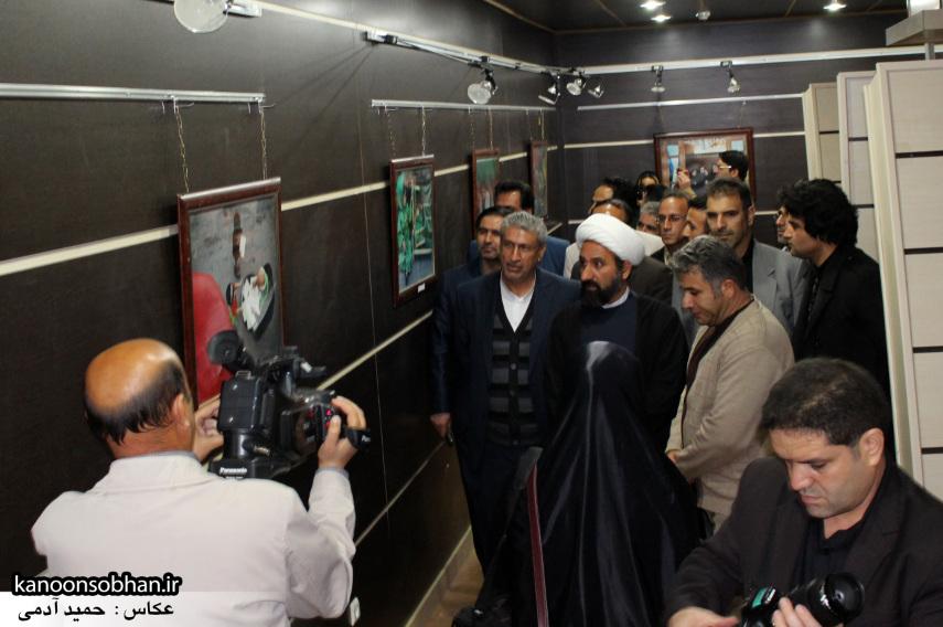 تصاویر افتتاح نمایشگاه عکس«محرم از نگاه دوربین عکاسان لرستان»در کوهدشت (10)