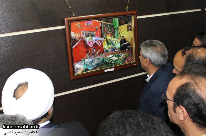 تصاویر افتتاح نمایشگاه عکس«محرم از نگاه دوربین عکاسان لرستان»در کوهدشت (11)