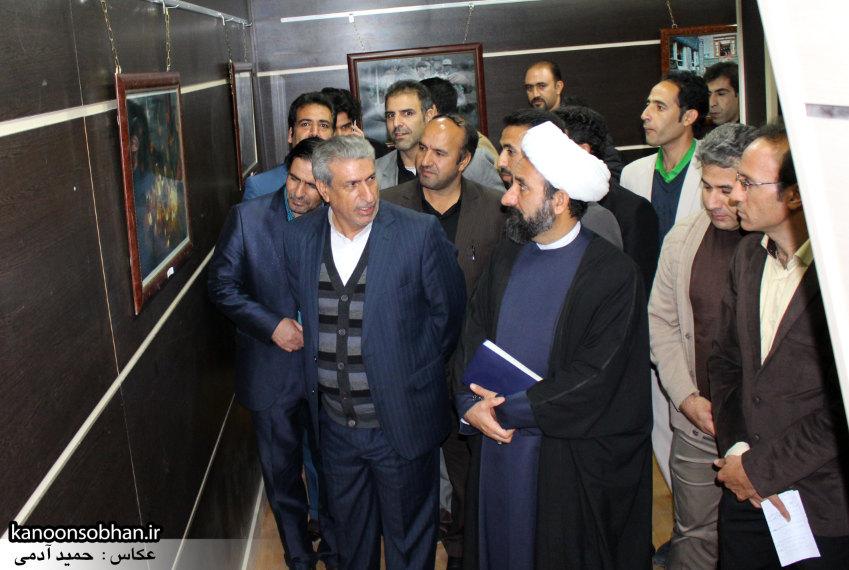 تصاویر افتتاح نمایشگاه عکس«محرم از نگاه دوربین عکاسان لرستان»در کوهدشت (12)