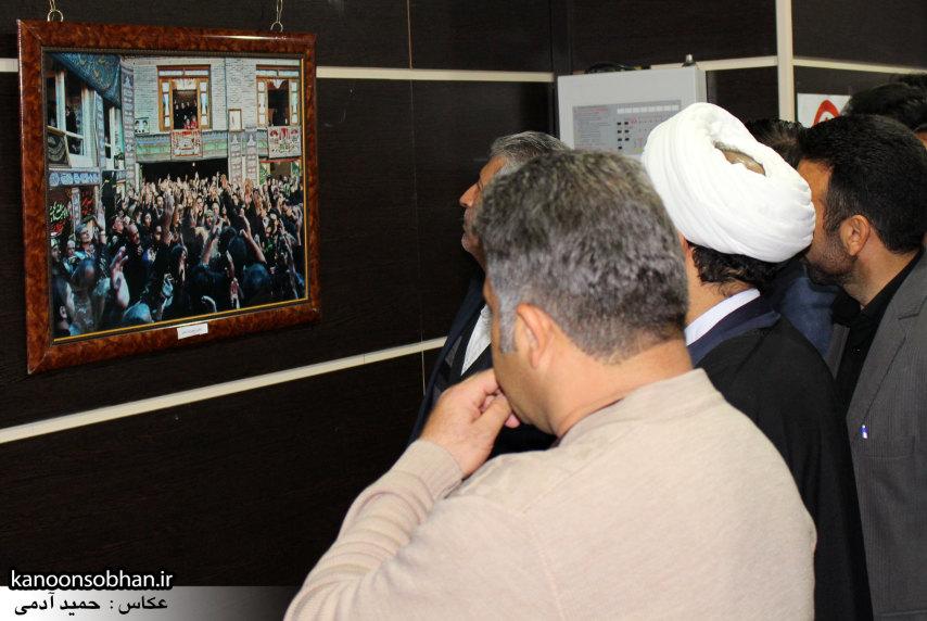 تصاویر افتتاح نمایشگاه عکس«محرم از نگاه دوربین عکاسان لرستان»در کوهدشت (13)