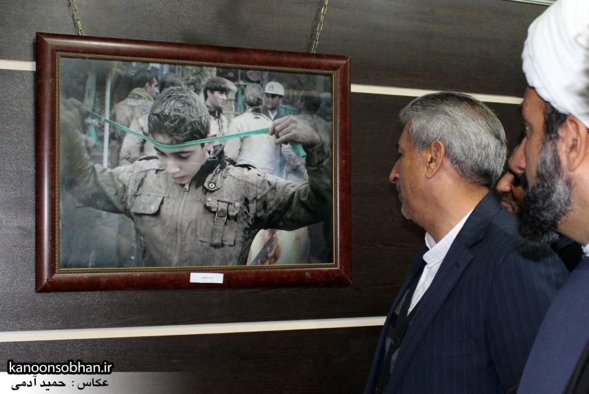 تصاویر افتتاح نمایشگاه عکس«محرم از نگاه دوربین عکاسان لرستان»در کوهدشت (4)