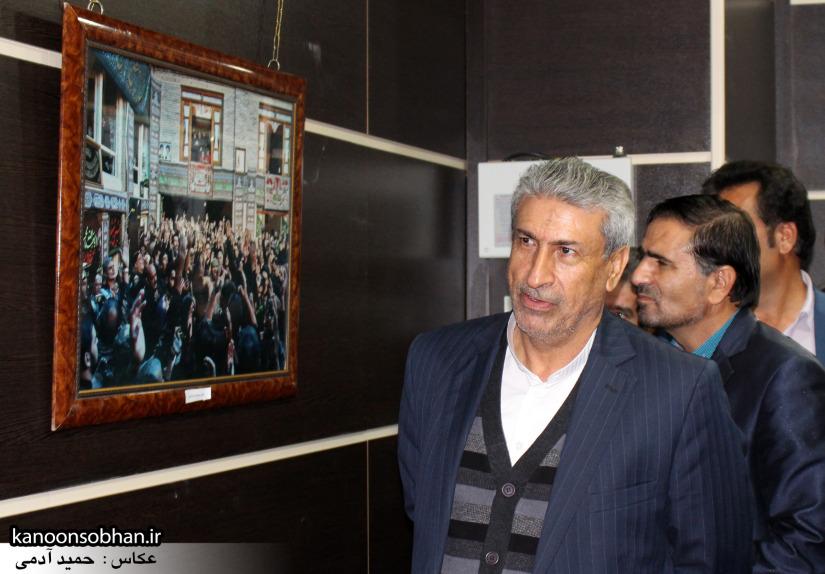 تصاویر افتتاح نمایشگاه عکس«محرم از نگاه دوربین عکاسان لرستان»در کوهدشت (5)