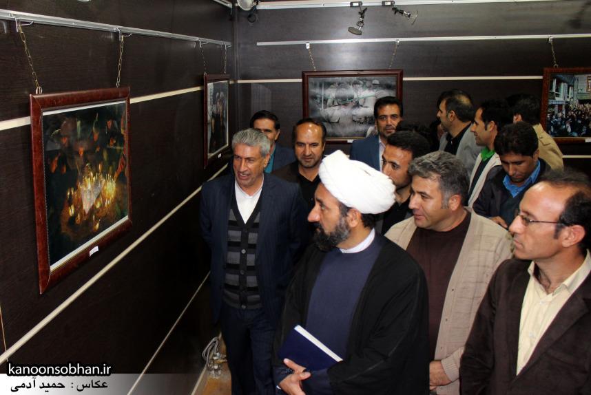 تصاویر افتتاح نمایشگاه عکس«محرم از نگاه دوربین عکاسان لرستان»در کوهدشت (6)