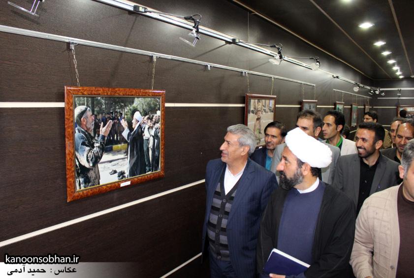 تصاویر افتتاح نمایشگاه عکس«محرم از نگاه دوربین عکاسان لرستان»در کوهدشت (9)