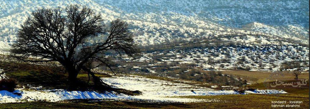 تصاویر برف پاییزی کوهدشت لرستان آذر 94 (2)