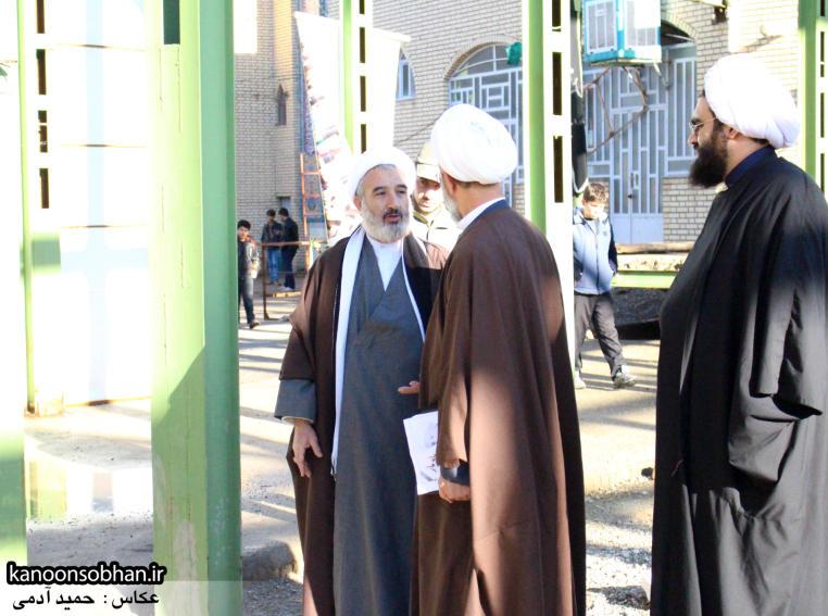 تصاویر حضور«معاون امور استان های شورای سیاست گذاری نماز جمعه کشور» در کوهدشت (4)
