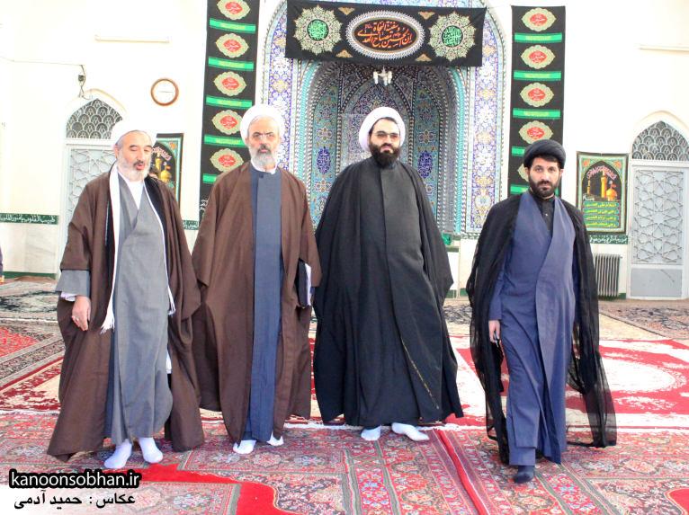 تصاویر حضور«معاون امور استان های شورای سیاست گذاری نماز جمعه کشور» در کوهدشت (6)