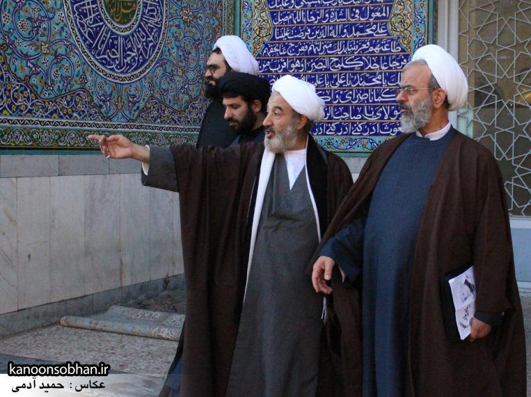 تصاویر حضور«معاون امور استان های شورای سیاست گذاری نماز جمعه کشور» در کوهدشت (7)