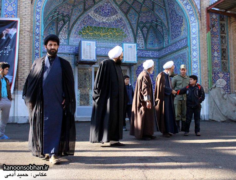 تصاویر حضور«معاون امور استان های شورای سیاست گذاری نماز جمعه کشور» در کوهدشت (8)
