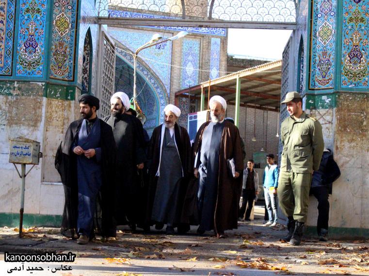 تصاویر حضور«معاون امور استان های شورای سیاست گذاری نماز جمعه کشور» در کوهدشت (9)