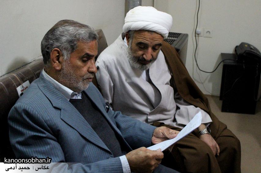 تصاویر دیدار امام جمعه کوهدشت با نماینده آیت الله مکارم شیرازی در امر مسجد سازی (3)