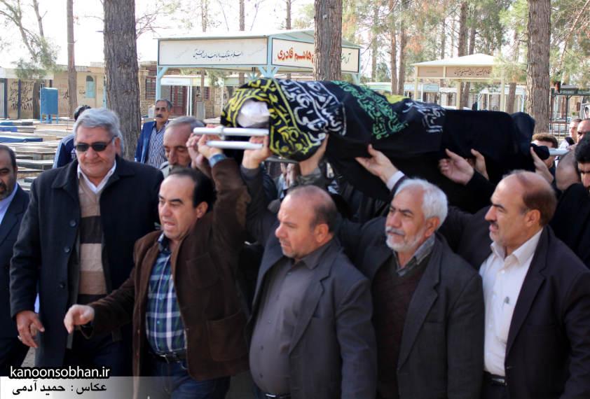 تصاویر مراسم تشییع و تدفین مادر شهید شهرام عباسی در کوهدشت (2)