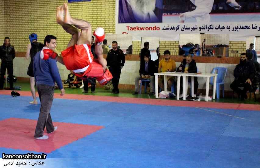 تصاویر مسابقات «جام بصیرت» ووشو در کوهدشت (2)