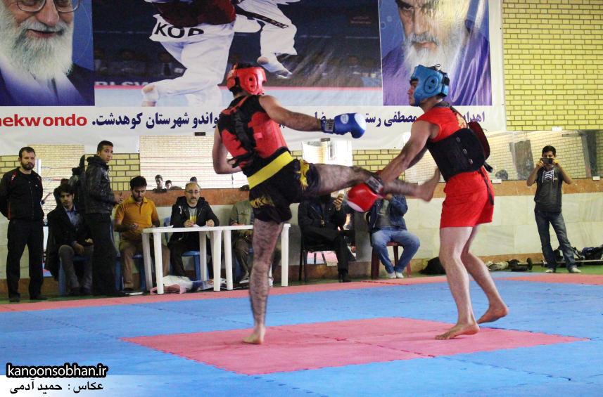 تصاویر مسابقات «جام بصیرت» ووشو در کوهدشت (5)