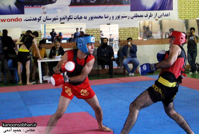تصاویر مسابقات «جام بصیرت» ووشو در کوهدشت (9)
