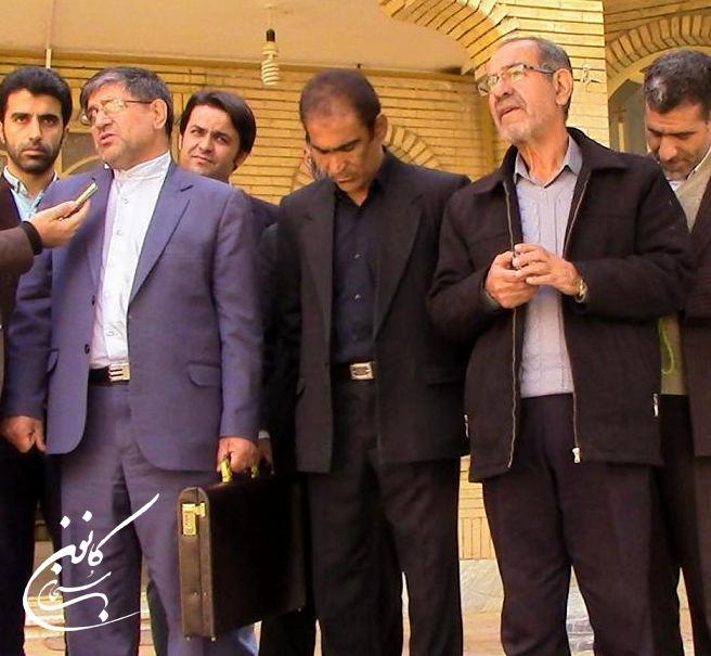 ثبت نام علی امام راد سناتور کوهدشت برای مجلس دهم (1)