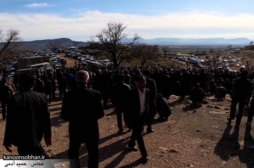 عکس مراسم خاکسپاری پدر اسماعیل دوستی در کوهدشت (1)