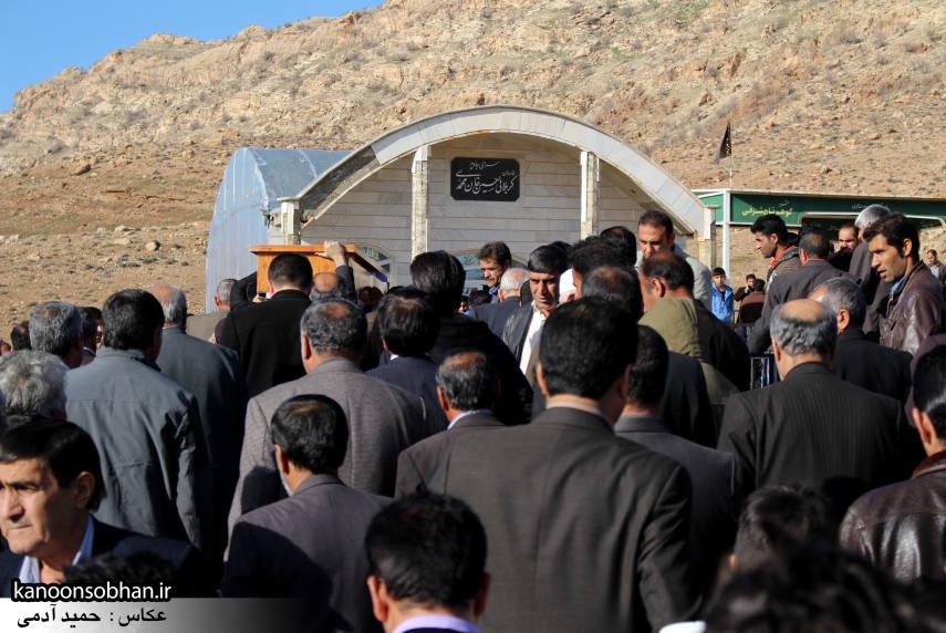 عکس مراسم خاکسپاری پدر اسماعیل دوستی در کوهدشت (11)