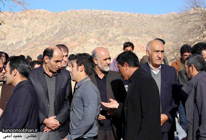 عکس مراسم خاکسپاری پدر اسماعیل دوستی در کوهدشت (18)