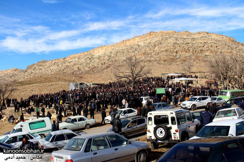 عکس مراسم خاکسپاری پدر اسماعیل دوستی در کوهدشت (20)