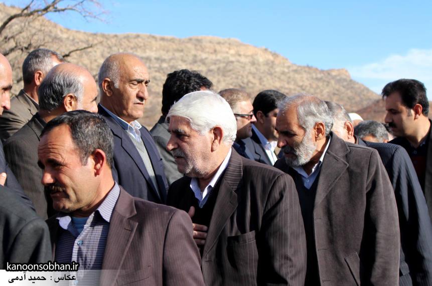 عکس مراسم خاکسپاری پدر اسماعیل دوستی در کوهدشت (25)