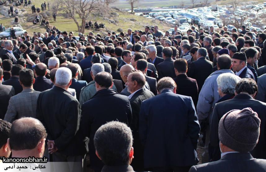 عکس مراسم خاکسپاری پدر اسماعیل دوستی در کوهدشت (31)