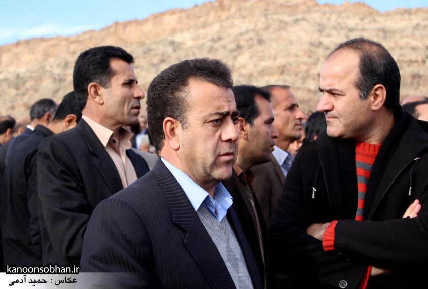 عکس مراسم خاکسپاری پدر اسماعیل دوستی در کوهدشت (33)