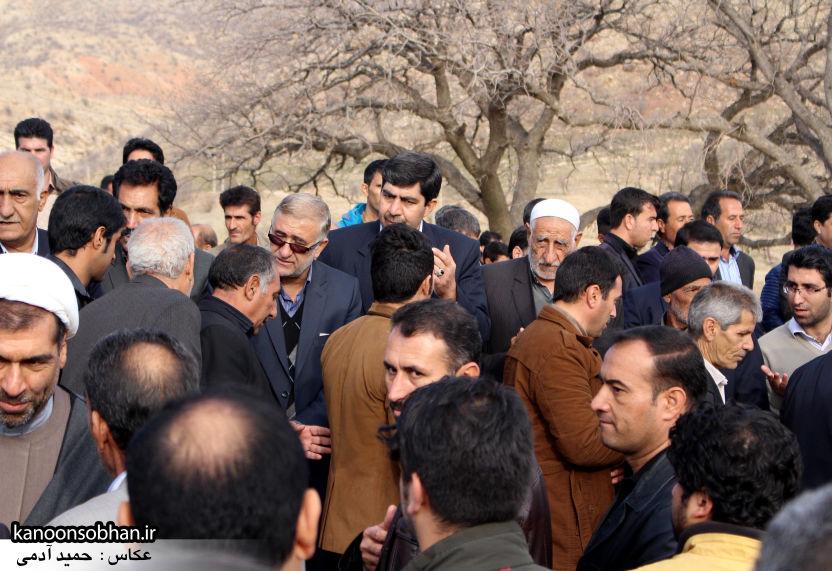عکس مراسم خاکسپاری پدر اسماعیل دوستی در کوهدشت (35)