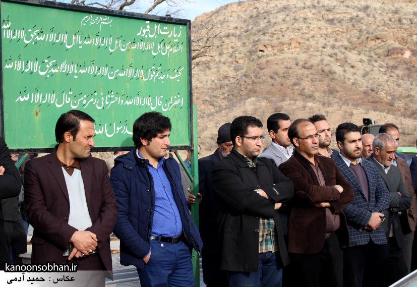 عکس مراسم خاکسپاری پدر اسماعیل دوستی در کوهدشت (39)