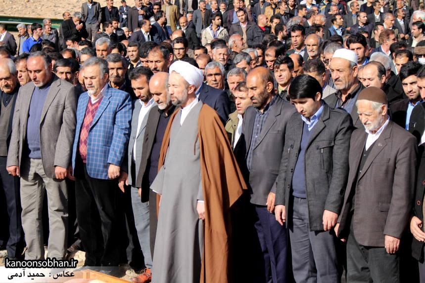عکس مراسم خاکسپاری پدر اسماعیل دوستی در کوهدشت (4)