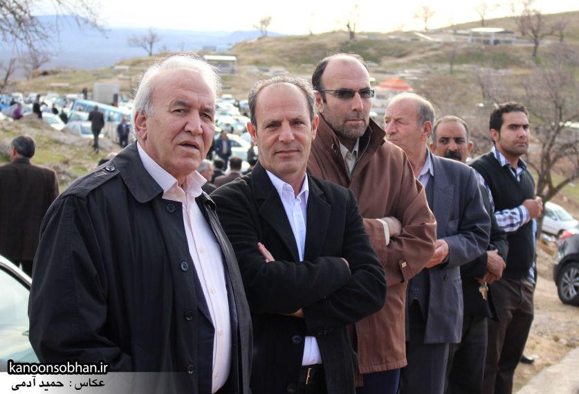 عکس مراسم خاکسپاری پدر اسماعیل دوستی در کوهدشت (41)
