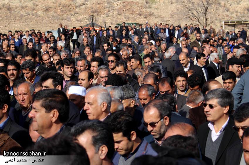 عکس مراسم خاکسپاری پدر اسماعیل دوستی در کوهدشت (5)