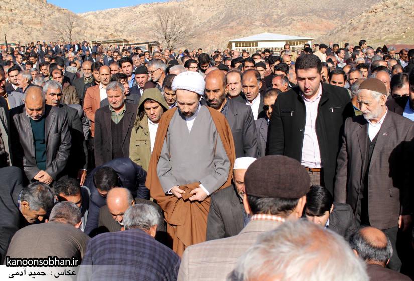 عکس مراسم خاکسپاری پدر اسماعیل دوستی در کوهدشت (8)