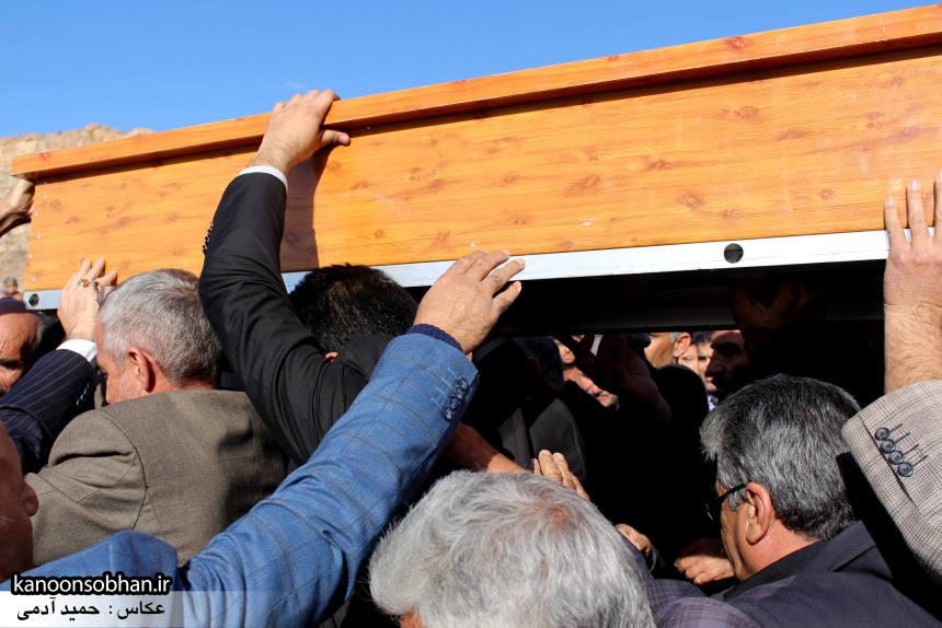 عکس مراسم خاکسپاری پدر اسماعیل دوستی در کوهدشت (9)